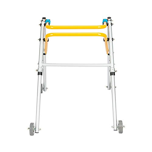 Kids Posterior Posture Pediatric Walker Ajustable w/ 4 Wheel