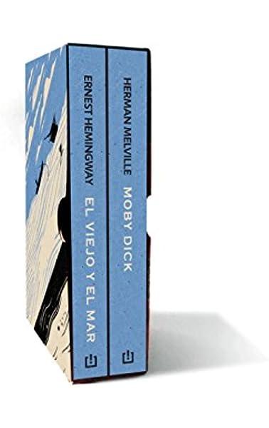 Twins Melville-Hemingway estuche con Moby Dick   El viejo y el mar: Amazon.es: Herman Melville y Ernest Hemingway: Libros