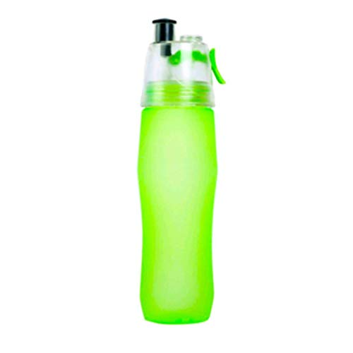 YJYDADA Protable Sports Water Bottle With Straw Drink Spray Cup Climbing Hiking Cycling (Bottle Rocket Bikes)