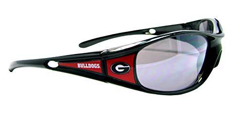 Sport Bulldogs Black Sunglasses - Georgia Bulldogs Black Red White Sunglasses Mens Womens UGA S9JT Licensed Gift