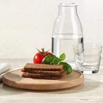 Farmers Dark Rye Bread Yeast Free Hummlinger, No Yeast Added 17.6 oz. (6 programs)