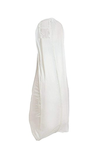 - Bags for Less X Large White Bridal Wedding Gown Dress Garment Bag