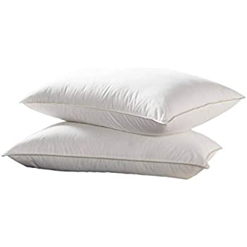 Amazon Com Luxurious Goose Down Pillow 1200 Thread