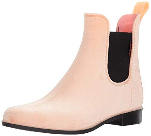 Chooka Women's Waterproof Fashion Velvet Bootie with Memory Foam, Blush, 8 M US ()