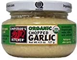 Emperors Kitchen Chopped Garlic, 4.5-Ounce (Pack of 6)