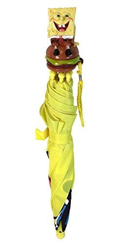 Amazon.com: SpongeBob Squarpants Umbrella 3D Handle for kids: Garden & Outdoor