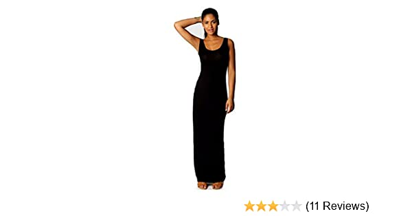 Women Summer Dress 2014 Tank Top Ankle Length Long Maxi Dress Ladies Celebrity Party Casual Dress Vestidos (M, Black) at Amazon Womens Clothing store: