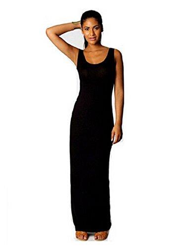Women Summer Dress 2014 Tank Top Ankle Length Long Maxi Dress Ladies