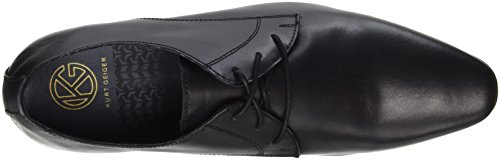 Kurt Geiger London Herren Kendal Derbys Schwarz (Black)