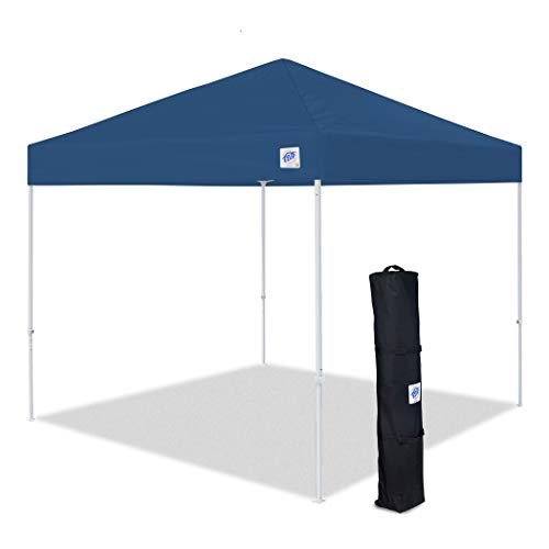 E-Z UP Envoy Instant Shelter Canopy, 10 by 10', Blue