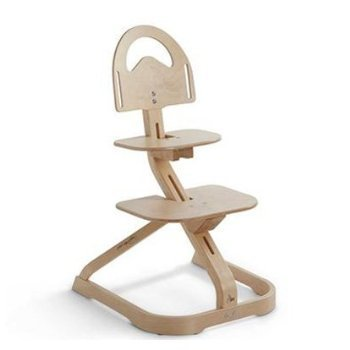 High Chair – Award Winning Svan Signet Essential High Chair – Grows with your Child (Natural)