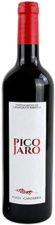 Vino Pico Jaro Tinto - 6 botellas de 750 ml - Total: 4500 ml