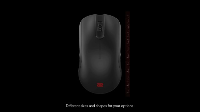 BenQ Zowie S2 Symmetrical-Short Gaming Mouse for Esports (Small)