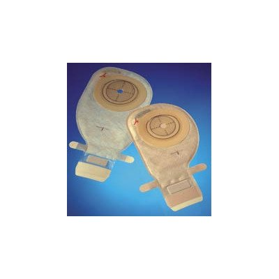MCK54244900 - Ostomy Pouch Assura EasiClose One-Piece System 11 Inch Length 31 mm Stoma Drainable Convex Light, Pre-Cut (Easiclose Pouch)