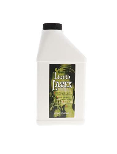 Liquid Latex – 16oz Pint – Creates Monster/Zombie Skin and FX