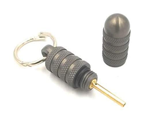 Butane Lighter Air Bleed Tool 2.0 in GunMetal Grey