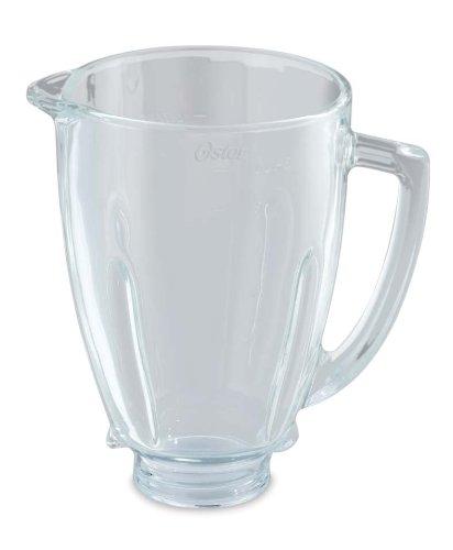 Oster BLSTAJ-G00-050 - Jarra de vidrio redonda 6 tazas (1.5 l) para batidora de vaso: Amazon.es: Hogar