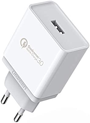 UGREEN Cargador Rápido QC 3.0 18W Quick Charge Qualcomm ...
