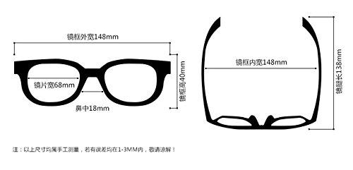 fresno pistola ojo Gafas sol Black Gun sport pionero Frame negro conducir KOMNY conductor polarizadas bastidor gafas hombres's de de espejo gafas del Ash yZ1qF6