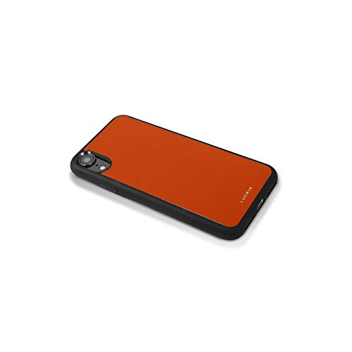 Latest Lucrin - iPhone XR Cover - Orange - Genuine Leather orange iphone xr case 5