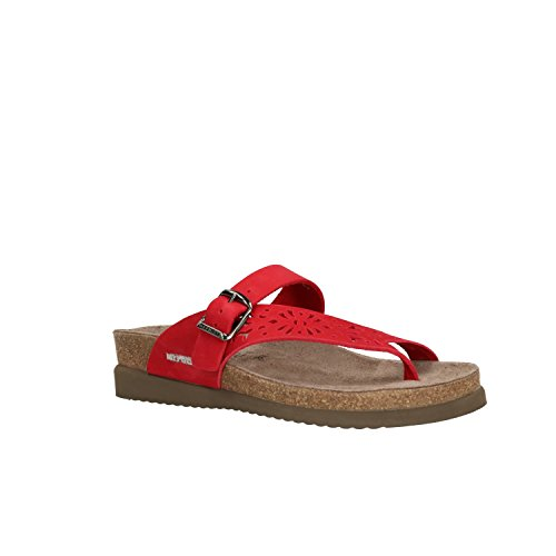 Mephisto Infradito Helen Calzature N Perf Red Sandalbuck6048 CCBrz15xn