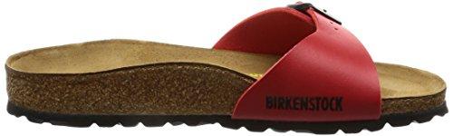 Birkenstock - Madrid, Mules Hombre Rojo (Kirsch)
