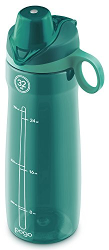Pogo BPA Free Plastic Water Bottle, 32 oz.