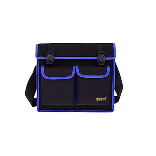 Value-Home-Tools - Multitul Waterproof Oxford Cloth Single Shoulder Messenger Bag Hardware Repair Electrician Tool Bag Large Toolkit