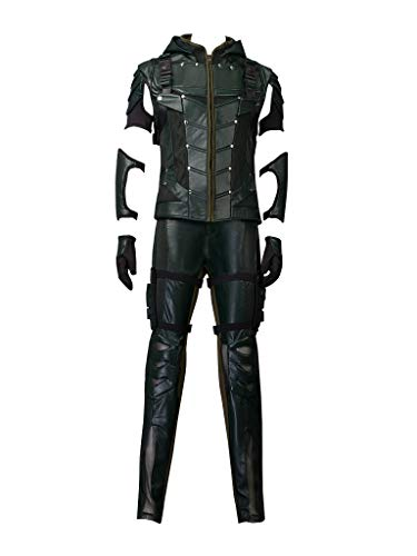 CosFantasy Deluxe Oliver Queen Season 4 Arrow Costume Cosplay Robin Hood mp003215 (Asian-XXXL)]()