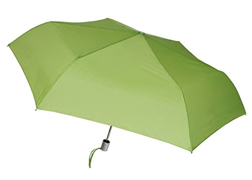 London Fog Tiny Mini Auto Open Close Umbrella, Lime (Umbrella Green Lime)
