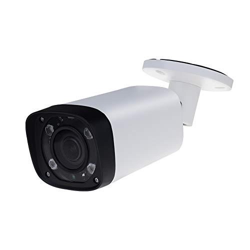 4MP HD Security POE IP Camera IPC-HFW4431R-Z, 2.7-12mm Motorized Varifocal Lens 4X Optical Zoom, All-Metal Bullet Camera Smart H.265,Smart IR Night Vision, WDR DNR, IP67,ONVIF