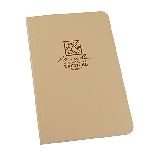 Rite in the Rain All Weather Field Book No.980T, 4-5/8 x 7-1