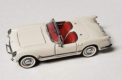 Franklin Mint 1/43 Scale 1953 Chevy Corvette Convertible in White