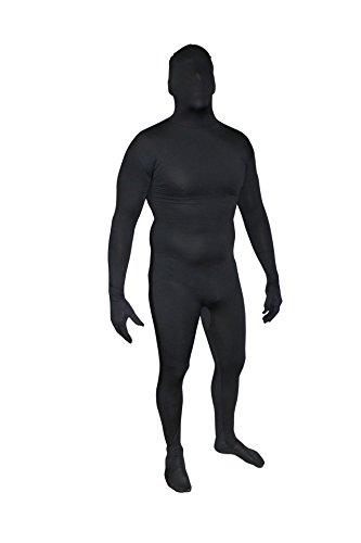 Skinz Adult Morph Bodysuits (Large (6-6'3), Black)