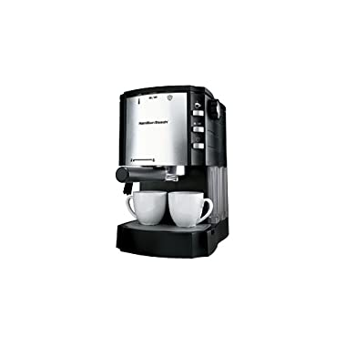 Hamilton Beach 40729 Espresso/Cappuccino Maker with Pod Holder