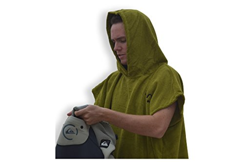 Hooded Changing Poncho changing Wetsuit