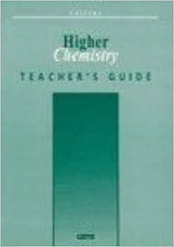 Salters Higher Chemistry Teachers 39: Guide Salters GCE Chemistry