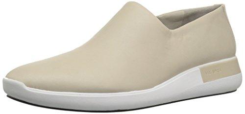 Via Spiga Womens Malena Slip on Sneaker Light Taupe Leather