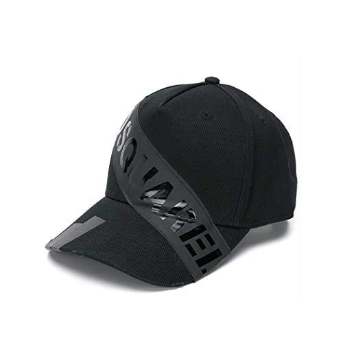 Algodon Bcm017305c000012124 Dsquared2 Hombre Negro Sombrero qOq1wBx5