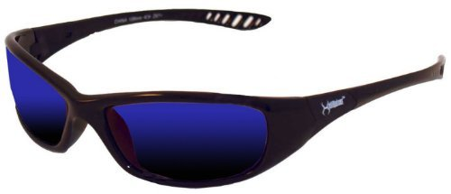 PlumBest G30017 Hellraiser Blue Mirror Safety Glasses by PlumBest