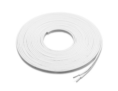 JL Audio XM-WHTSC16-25 25 ft. White 16 AWG Parallel Conductor Speaker Cable