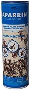 MASSÓ Polvo insecticida contra Hormigas, pulgas, chinches, garrapatas y cucarachas. 250 g