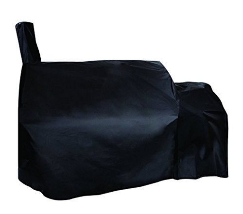 Stanbroil Waterproof Grill Cover Fits Oklahoma Joe's Longhorn Offset Smoker, Black