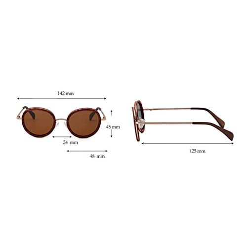 UV 2x12 Bambou 5cm XU Taille B éblouissement HD Anti polarisé Soleil de 14 Anti en Outdoor Cadre MX Dames Rond UV400 décoration Lunettes Lunettes MEI Driving Z8wFqgnSS