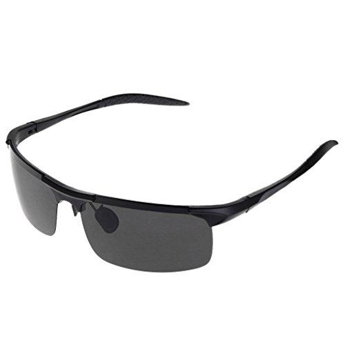 conducción Negro libre polarizadas de de 1 Logres gafas aire 010 ciclismo gafas al de par protección pesca S8qaU
