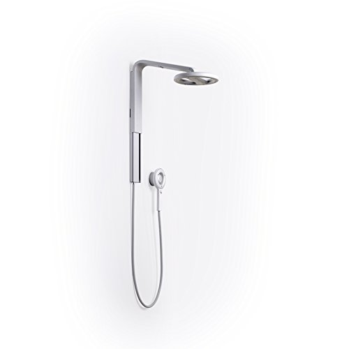 Nebia Spa Shower: Luxury Water Innovation. Sustainable Atomizing Shower System with 10'' Head, Handheld Wand, Adjustable Height. Award Winning Design, Aluminum, Easy DIY Install. Made in USA. by Nebia (Image #1)