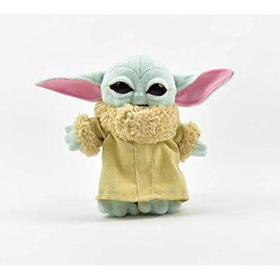 BD 15cm Keychain Baby yoda Plush Toys Child Baby Yoda The Mandalorian: Toys & Games