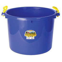 Best Quality Muck Tub / Blue Size 70 Quart By Miller Mfg Co Inc
