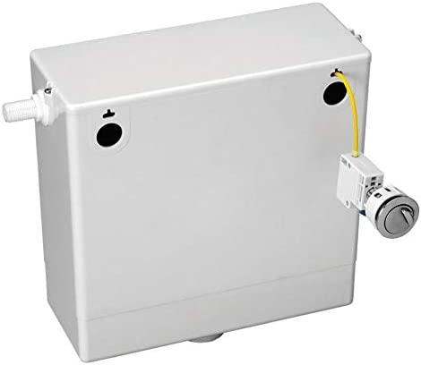 VeeBath Ideal Dual Flush Back to Wall Cable Concealed Cistern Button - 3/6 Litre