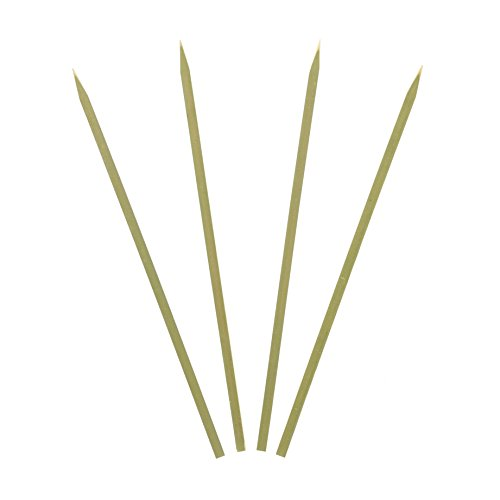Royal Bamboo 10'' Flat Skewers for Grilling, Satay, and Skewered Vegetables, Package of 2000 by Royal